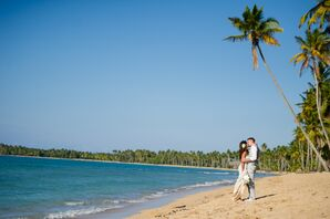 Destination Wedding on Beach in Dominican Republic