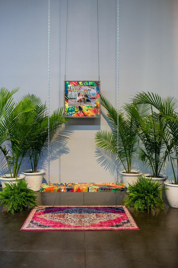 Modern, Colorful Decorations and Plants