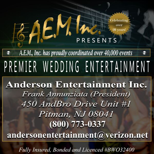 AEM Wedding Bands - Cover Band - Pitman, NJ