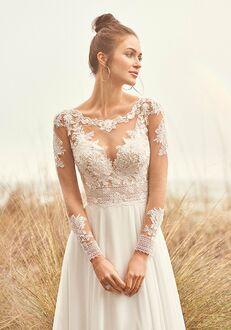 Lillian West 66091 A-Line Wedding Dress