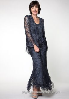 Soulmates C1067 Black Mother Of The Bride Dress