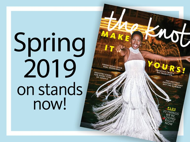 dbbbb299a3 The Knot Spring 2019 magazine subscription details