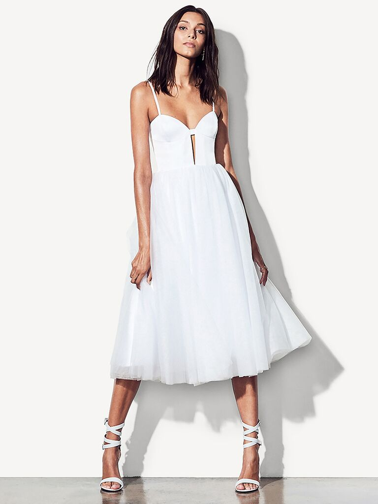 shower engagement white from bridal picture dress anouska rehearsal bhldn pin