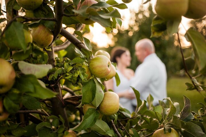 An Orchard Wedding At The Country Mill Charlotte Mi