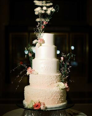 Tiered Wedding Cake at Detroit Institute of Arts Wedding