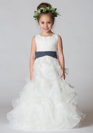 Bari Jay Flower Girls F7117 Ivory Flower Girl Dress