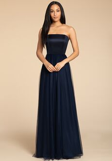 Hayley Paige Occasions 5916 Strapless Bridesmaid Dress