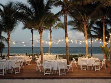 destination wedding in playa mujeres, mexico