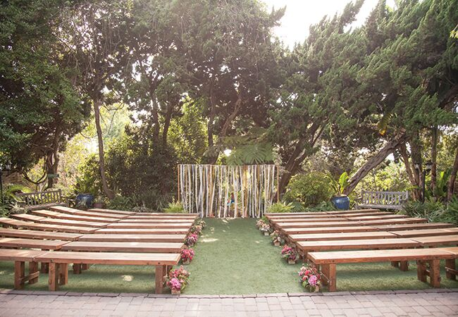 outdoor ceremony | She Wanders | blog.theknot.com