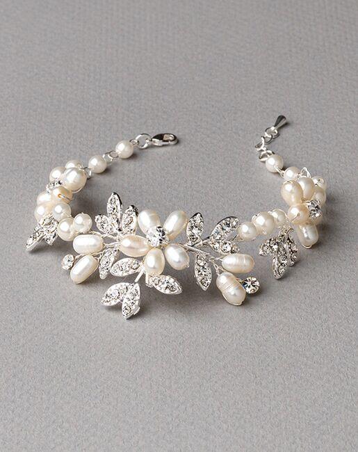 USABride Dahlia Freshwater Pearl Bracelet (JB-4818) Wedding Bracelets photo
