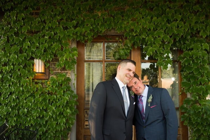 James Scalzitti (48 and a deputy communications director) and Stephen Loch (41 and an actor) got married the day after the Supreme Court ruling on sam