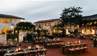 Darlington House Reception Venues La Jolla Ca