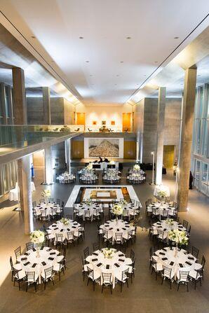 Modern Art Museum Lobby Reception