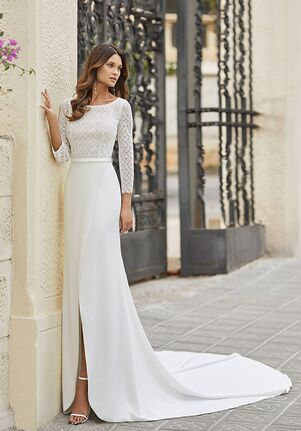 Rosa Clará TAMAR Sheath Wedding Dress