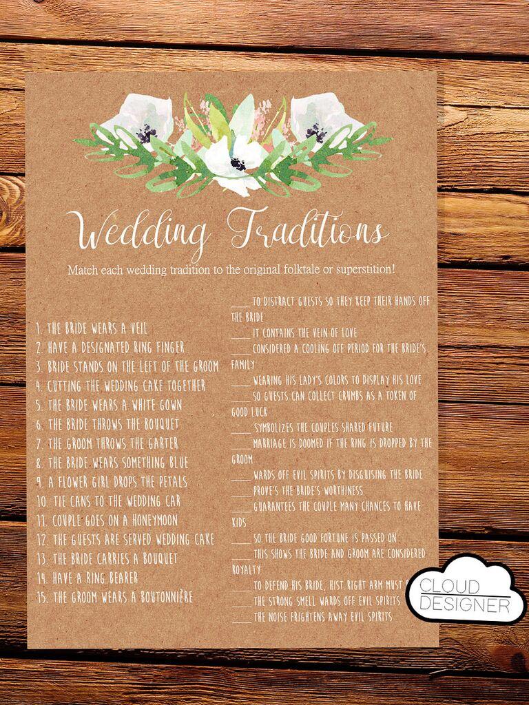 Wedding Game Free.15 Printable Wedding Games Everyone Will Love