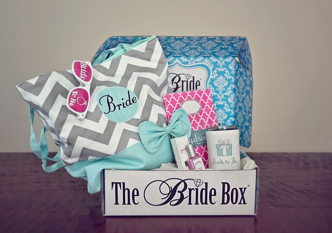 The Bride Box Bridal Gifts Every Month Favors Amp Gifts
