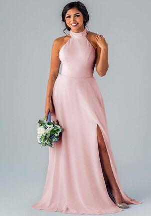 Kennedy Blue Stassi Halter Bridesmaid Dress