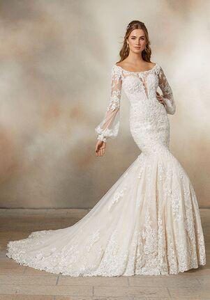 Morilee by Madeline Gardner Petal Mermaid Wedding Dress