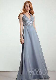 CocoMelody Bridesmaid Dresses RB0293 V-Neck Bridesmaid Dress