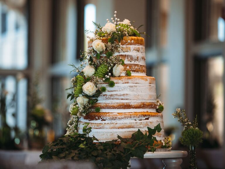 Average Wedding Cake Cost