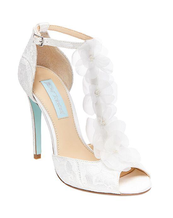 Blue By Betsey Johnson SB SADIE Ivory Shoe