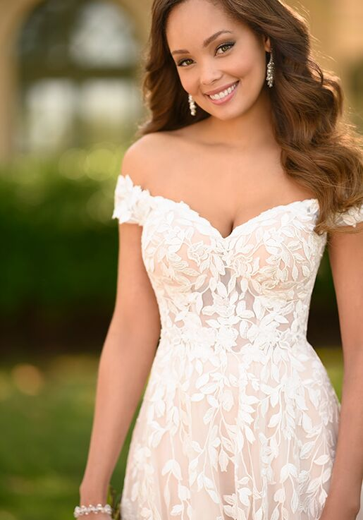 Stella York 7012 A-Line Wedding Dress