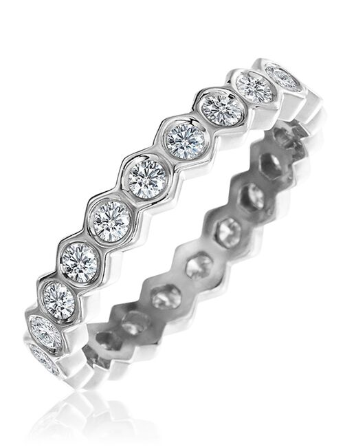 "Platinum Jewelry Gumuchian ""B"" collection-R887P Platinum Wedding Ring"