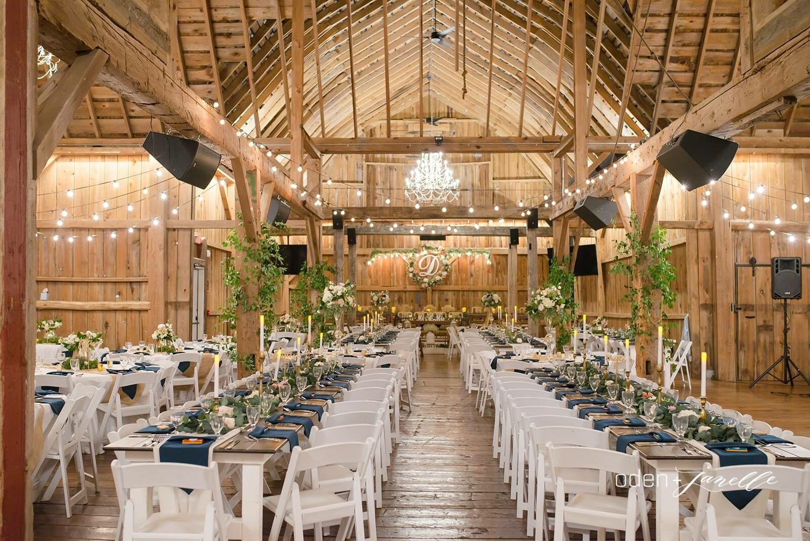 wedding barn event center venues mi sonshine lake reception hubbard gaylord featured