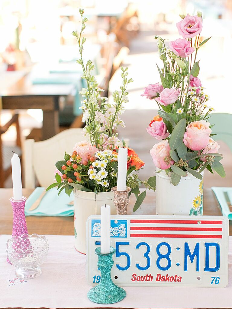 17 non floral centerpiece ideas simple vintage non floral centerpiece ideas for your wedding izmirmasajfo Images