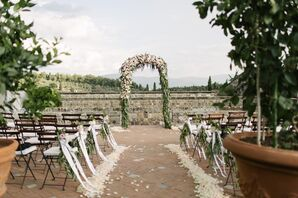 Garden-Inspired Ceremony Decor