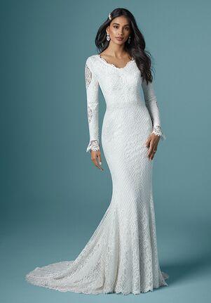 Maggie Sottero ANTONIA LEIGH Sheath Wedding Dress