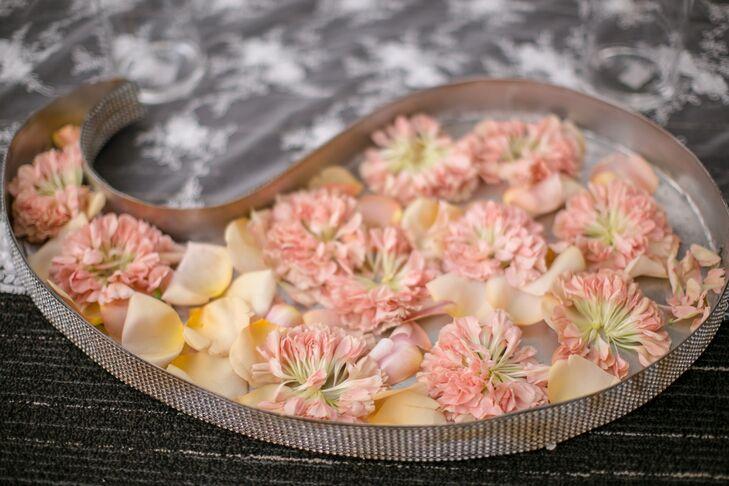 Elegant Decoration with Flower Petals