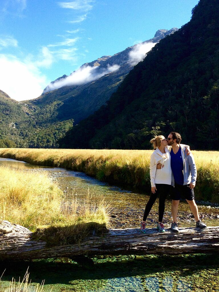 Routeburn Track in New Zealand