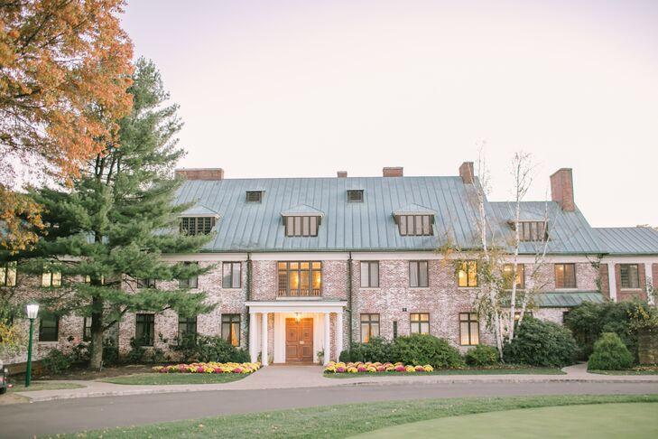 Fall Wedding at Hamilton Farm Golf Club