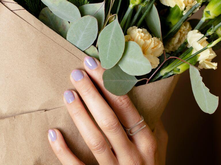 lavender lilac nail polish