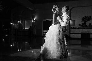 Erin and Paulo First Dance in La Laguna Restaurant