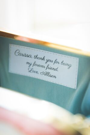 Personalized Clutch Bridesmaid Gifts
