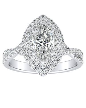 DiamondWish.com Elegant Princess, Asscher, Cushion, Marquise, Pear, Round, Oval Cut Engagement Ring