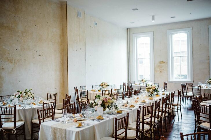 Excelsior Wedding Reception with Brown Chiavari Chairs