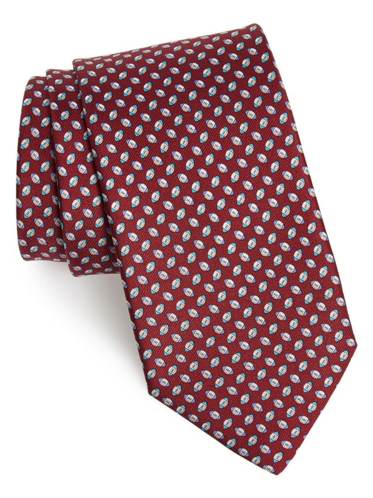 Football tie gift for father-in-law