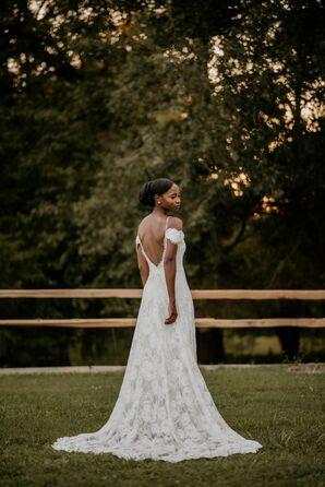 Sunset Bridal Portraits in Durham, North Carolina