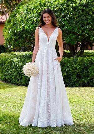 Adrianna Papell Platinum 31203 A-Line Wedding Dress