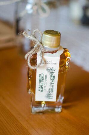 Miniature Maple Syrup Vial Wedding Favor