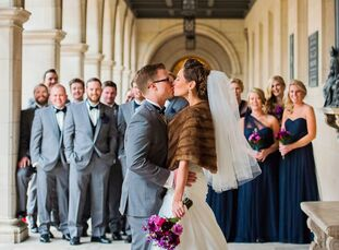 """Stephanie Green (27 and an occupational therapist at Missouri Baptist Medical Center) and Ryan """"Bo"""" Bowman (27 and a client service manager for Moneta"""