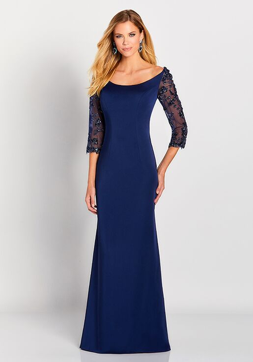 Cameron Blake 119658 Blue Mother Of The Bride Dress