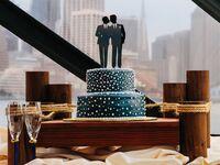 Same-sex cake topper