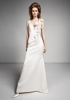 Viktor&Rolf Mariage FLOWER BOUQUET FIT AND FLARE Sheath Wedding Dress