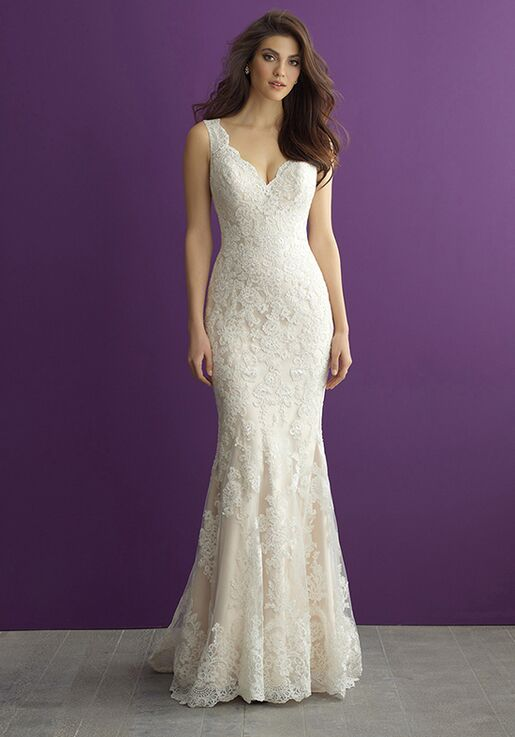 Allure Romance 2956 Sheath Wedding Dress