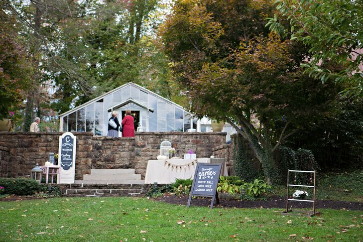Reception at Historic Shady Lane in Manchester, Pennsylvania