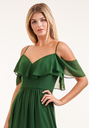 JASMINE P226005 Off the Shoulder Bridesmaid Dress